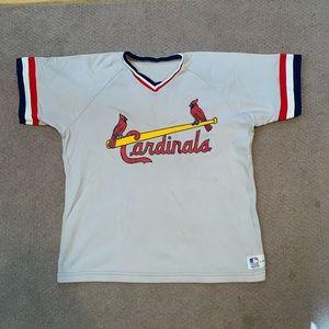 Vintage St. Louis Cardinals Jersey XL Sand Knit